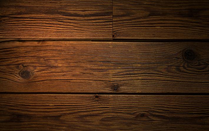 Download Wallpapers 4k Brown Wooden Texture Macro Wooden