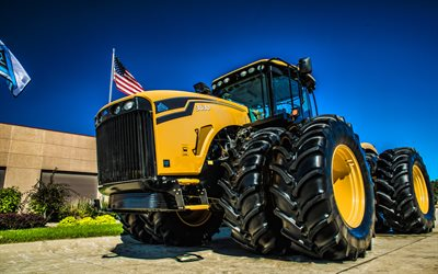 CAT 3630, 4k, plowing field, 2019 tractors, agricultural machinery, HDR, Caterpillar 3000 Series Tractor, agriculture, Caterpillar
