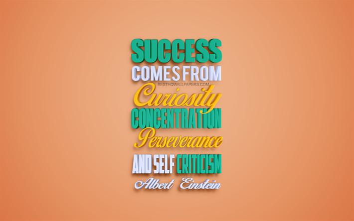 Herunterladen Hintergrundbild Erfolg Kommt Von Neugier