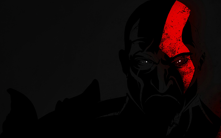 Download Wallpapers 4k Kratos Darkness 2018 Games Fan