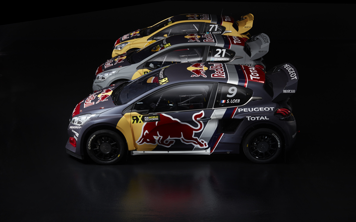 download wallpapers peugeot 208 wrx 2018 rally hatchback sebastian loeb hansen tuning 2018. Black Bedroom Furniture Sets. Home Design Ideas