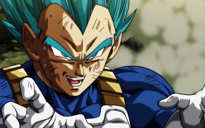 Télécharger fonds d'écran Vegeta, fan art, Dragon Ball Super, de manga, de colère, DBS, Dragon ...