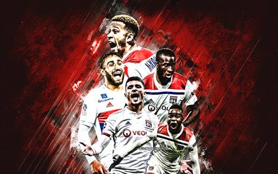 Olympique Lyonnais, Lyon, french football club, France, Ligue 1, Champions League, football, Memphis Depay, Moussa Dembele, Bertrand Traore