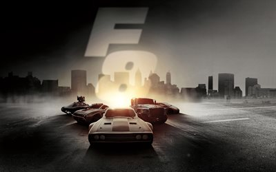 The Fate of the Furious, 2017, Fast and Furious 8, new films