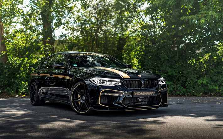 download wallpapers bmw m5 2018 manhart v8 biturbo. Black Bedroom Furniture Sets. Home Design Ideas