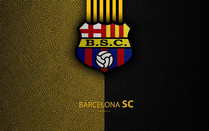Download Wallpapers Barcelona Sc 4k Leather Texture Ecuadorian