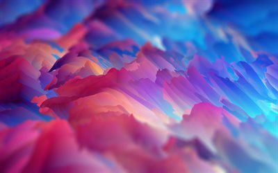 colorful splashes, material design, abstract waves, geometric shapes, lollipop, lines, creative, abstract art, colorful backgrounds