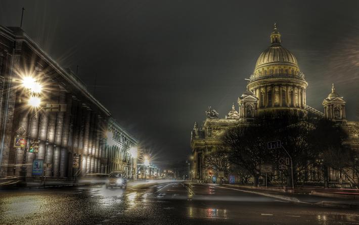 Download Wallpapers Saint Petersburg Saint Isaacs Cathedral