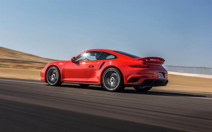 Descargar Fondos De Pantalla Porsche 911 Turbo S, 2017, 4k