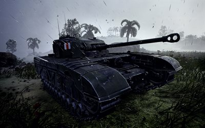 WoT, 4k, les chars allemands, World of Tanks