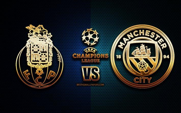 Download wallpapers Porto vs Manchester City, season 2020 ...