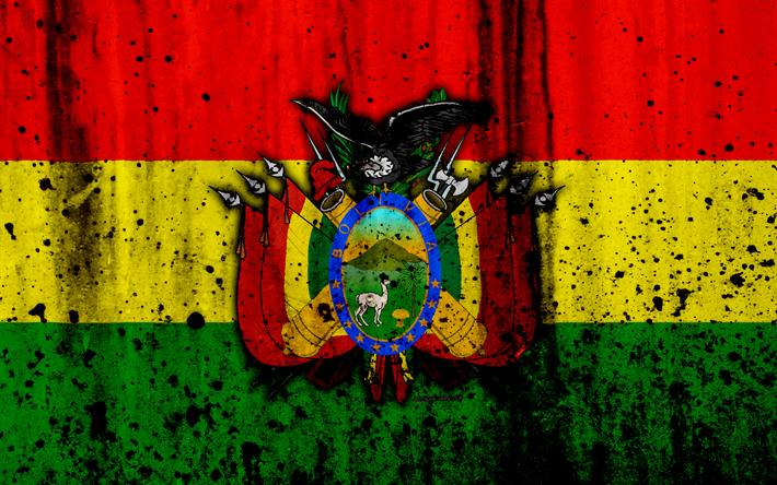 Descargar Fondos De Pantalla Boliviano De La Bandera, 4k
