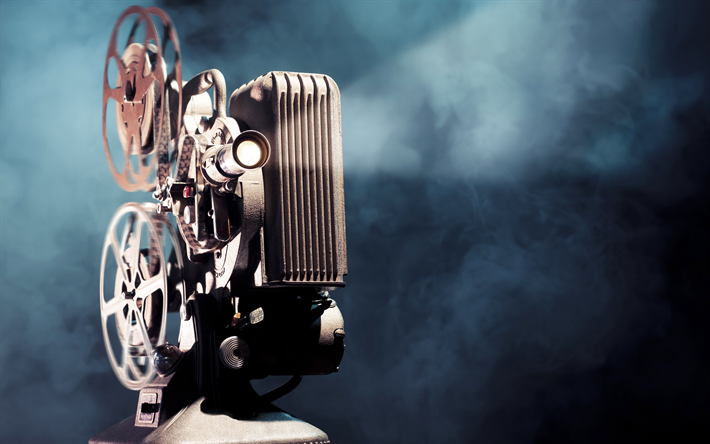 Descargar Fondos De Pantalla Filmoscope 4k Retro Humo