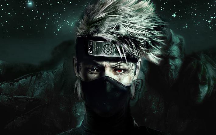 Download Imagens Naruto, Kakashi Hatake, Equipe 7, Anime