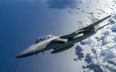 McDonnell Douglas F-15 Eagle, F-15C Eagle, USAF, American fighter, US Navy, combat aircraft, USA