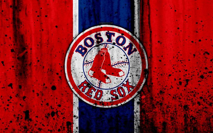 4k Boston Red Sox Grunge Baseball Club MLB America USA