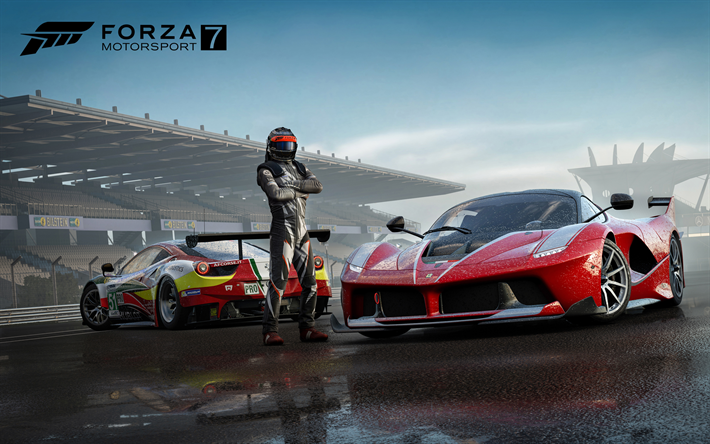 download imagens forza motorsport 7 2017 a ferrari fxx k ferrari 458 italia cartaz novo. Black Bedroom Furniture Sets. Home Design Ideas