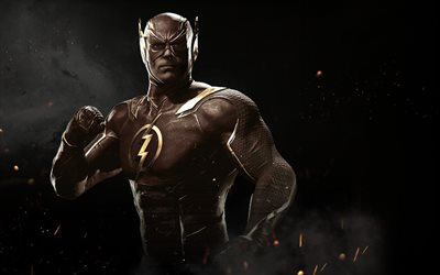 Flash, fighting, 2017 games, Injustice 2