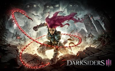 Fury, 4k, Darksiders III, 2018 games, Darksiders 3