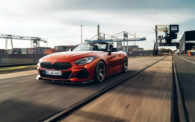AC Schnitzer, tuning, BMW Z4 ACS4, G29, 2019 cars, 4k, supercars, 2019 BMW Z4, german cars, BMW