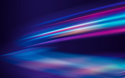 neon light background, neon texture, lines abstraction, background, blue creative background, blur lines background