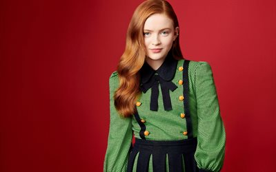 4k, Sadie Sink, 2019, Ew Photoshoot, Hollywood, american actress, beauty, amerrican celebrity, young actress, Sadie Sink photoshoot
