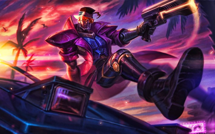 Demacia Vice, 4k, MOBA, League of Legends, guerreiros, obras de arte, Demacia Vice-League of Legends