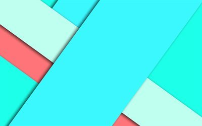 geometric backgrounds, material, blue abstraction, blue line