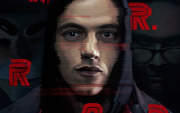Download Wallpapers Mr Robot 4k Tv Series Fan Art For