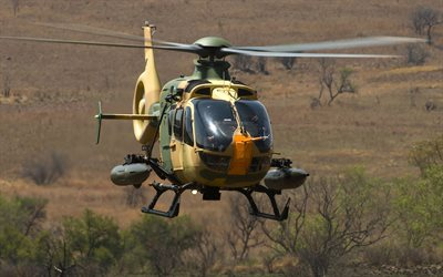 Eurocopter EC635, Airbus Helicopters H135M, light helicopter, German military helicopter, Germany