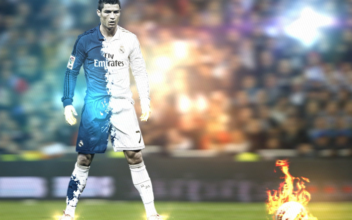 Art Of Cristiano Ronaldo Fans Wallpaper Sport Soccer