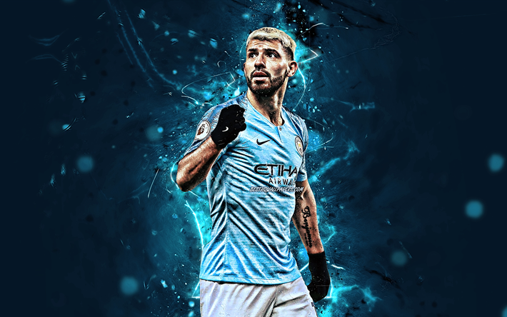 Kun Aguero Wallpaper Manchester City Fc