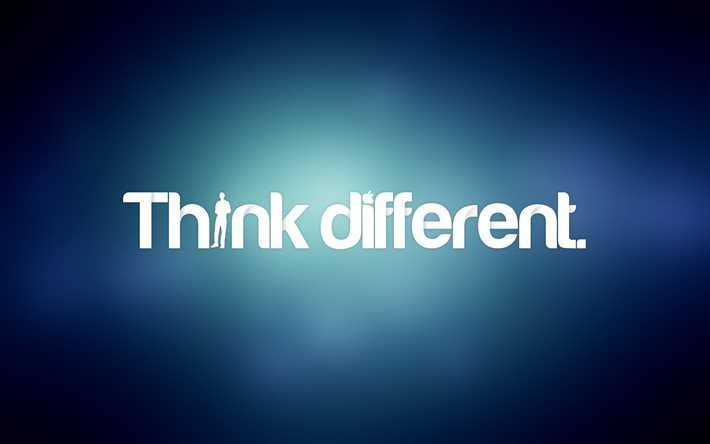 Download Wallpapers Citation Wallpaper Think Different Quotes