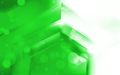 4k, green arrows, creative, abstract arrows, artwork, green pyramid, geometric shapes, arrows, green material design, pyramids, geometry, green backgrounds