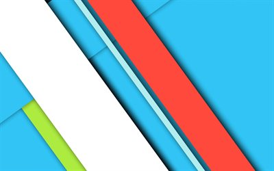 material design, colorful lines, geometry, diagonal lines, geometric shapes, lollipop, creative, strips, blue backgrounds