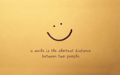 Quotes, smile, quotes about people, quotes about a smile, inspiration