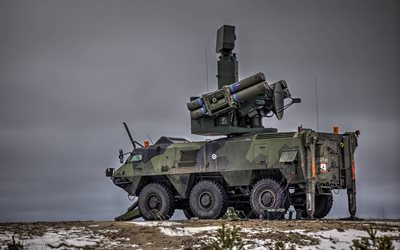 XA-180, Patria Pasi, Sisu Pasi, Crotale NG, surface-to-air missile system, Patria XA-180 Series, Finland, modern armored personnel carrier