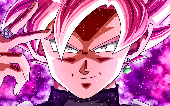 Herunterladen Hintergrundbild Super Saiyajin Rose Close Up