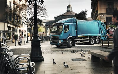 Volvo FE, 2018, urban equipment, utility services, garbage truck, garbage collection concepts, modern new trucks, Volvo