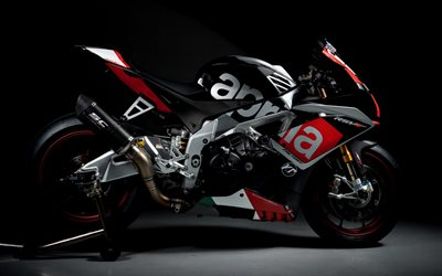 Aprilia RSV4 Factory, 2021, sport bike, side view, exterior, racing motorcycle, new RSV4, Aprilia