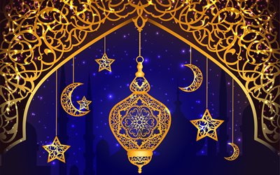 Ramadan, islam, religion, muslim holiday, lamp, holiday, art, Ramazan
