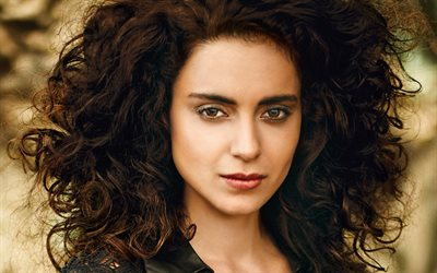 Kangana Ranaut, portrait, face, indian actress, Bollywood, India, photoshoot, beautiful indian woman