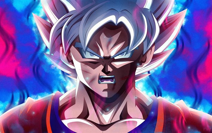 Goku Ultra Instinct 4k Wallpapers: Download Wallpapers Ultra Instinct Goku, Fan Art, Son Goku