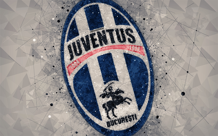 Herunterladen Hintergrundbild Fc Juventus Bucuresti 4k