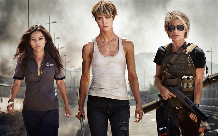 Download Wallpapers Terminator 6 2019 4k Poster New Films Diego