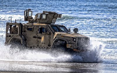 Oshkosh M-ATV, Mine Resistant Ambush Protected vehicle, MRAP, American armored car, american military vehicles, Oshkosh