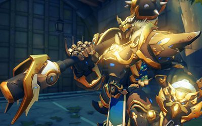 Reinhardt, les personnages, Overwatch