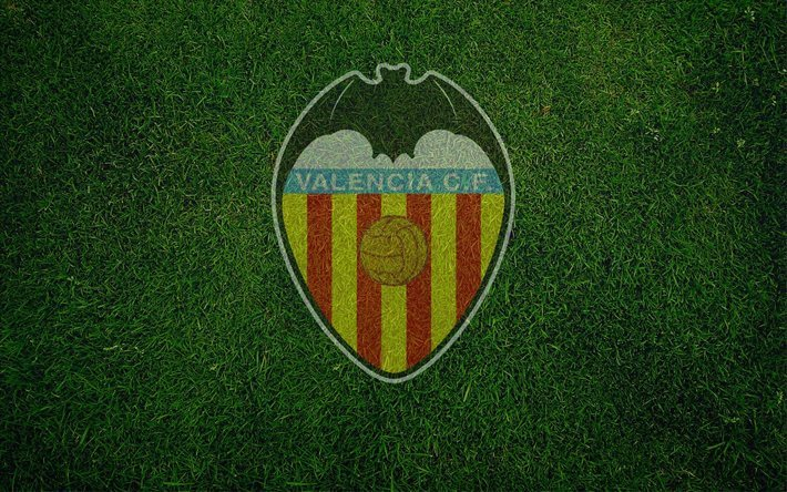 Download wallpapers Valencia CF, soccer, spain, football
