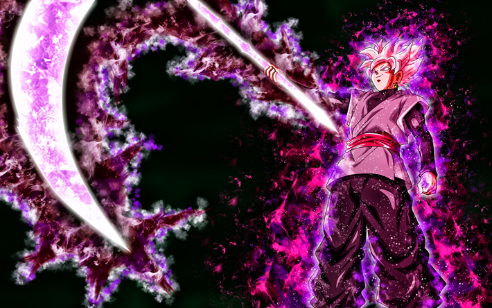 Download Wallpapers Black Goku Spit Dbs 4k Son Goku