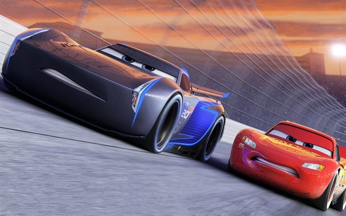 Cars 3, 2017, Lightning McQueen, 2017 animated movie